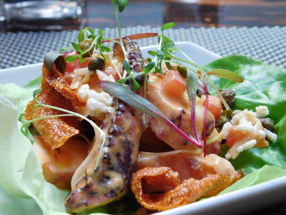 BLT Prime Doral Octopus Poke