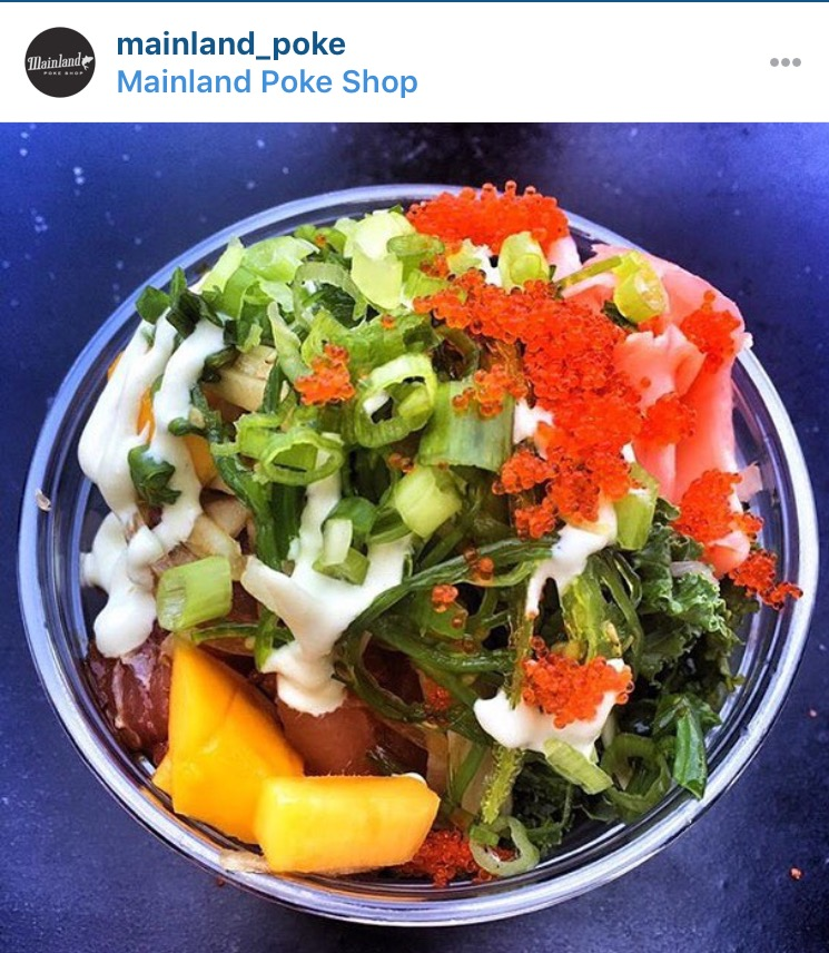 Mainland Poke Shop Los Angeles California