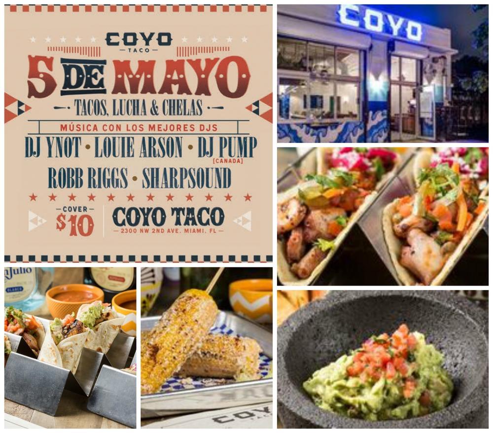 Miami Coyo Taco Cinco de Mayo festival