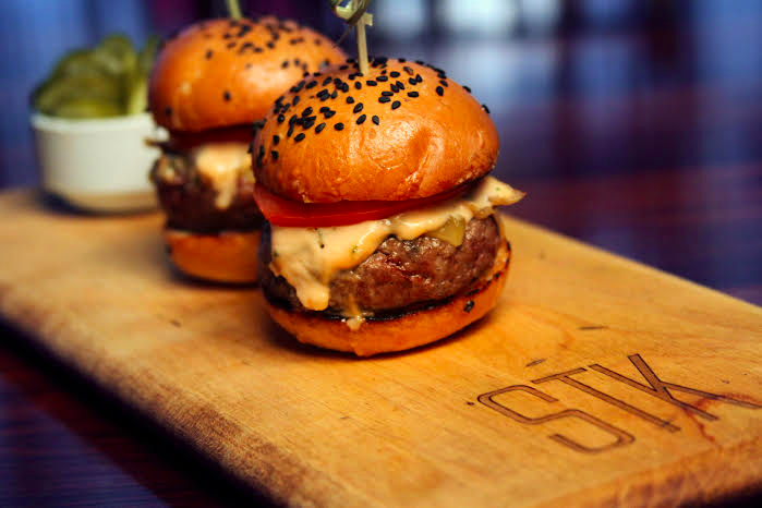 STK Miami Waygu Sliders