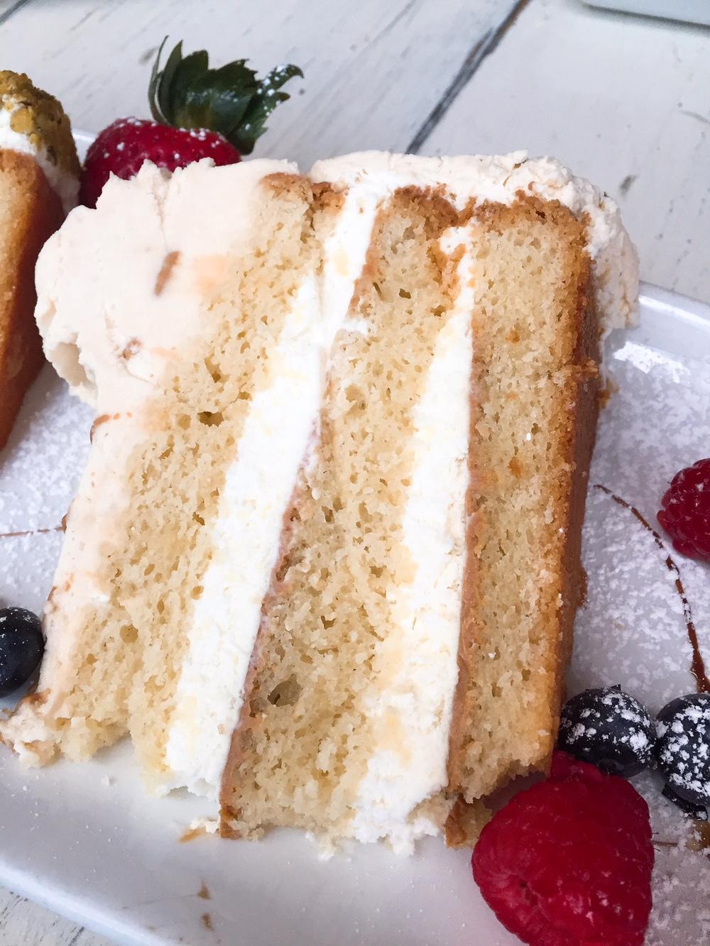 IceBox Cafe Dulce de Leche Cake