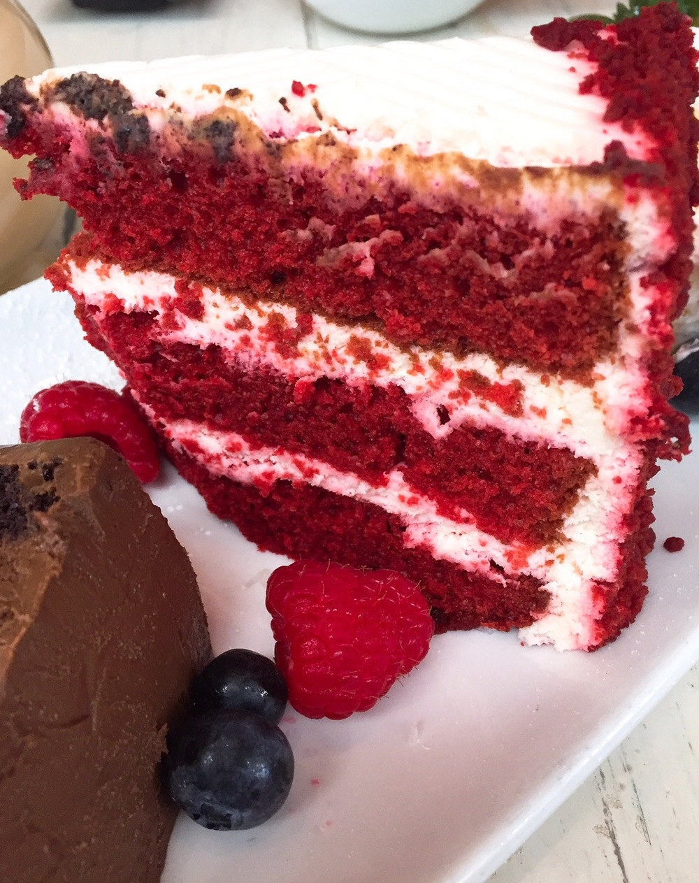 IceBox Cafe Miami Red Velvet Cake