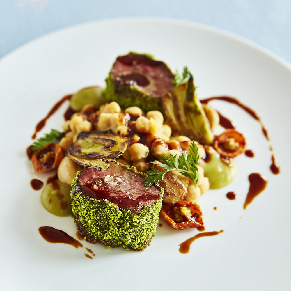 Scarpetta Miami Herb Crusted Lamb Loin