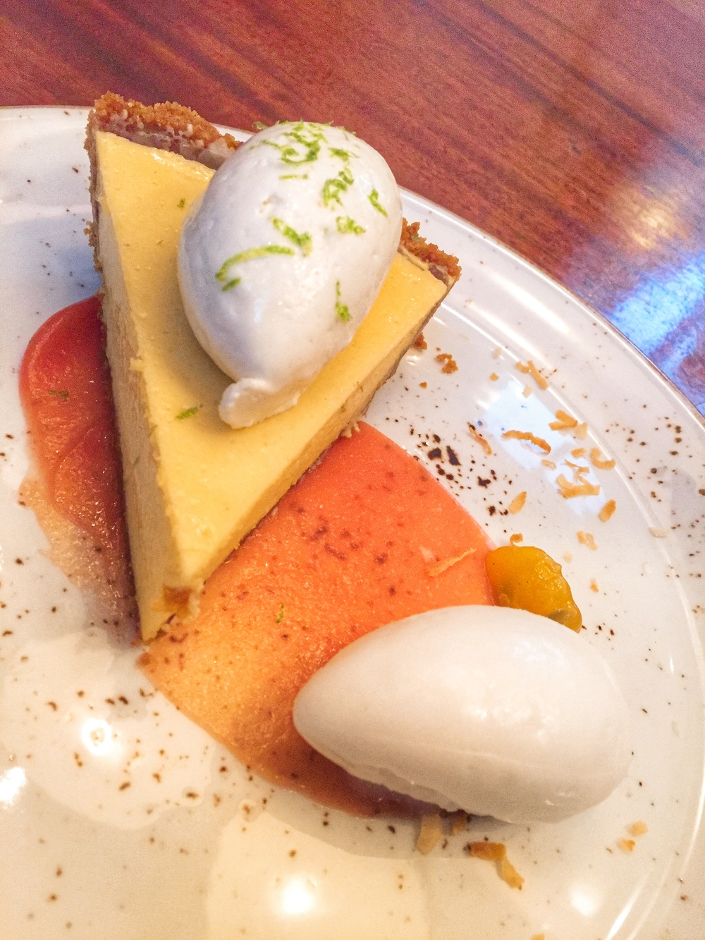 The Dutch Miami Salted Key Lime Pie Dessert