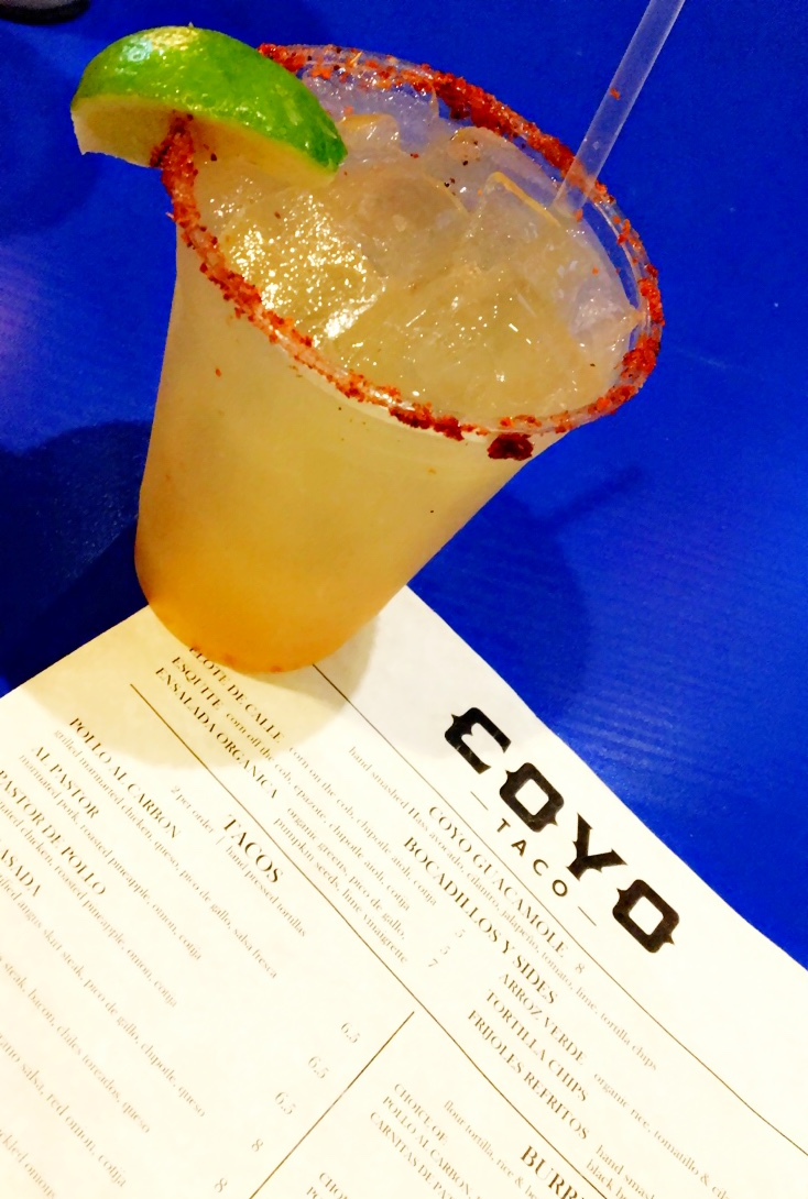 Coyo Taco Don Julio Margarita