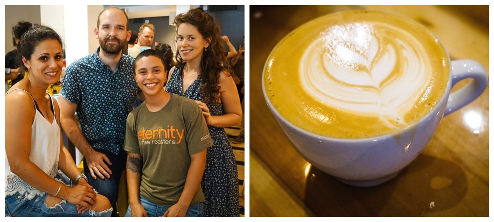 Latte Art Competition Winner Rachel from Eternity Coffee