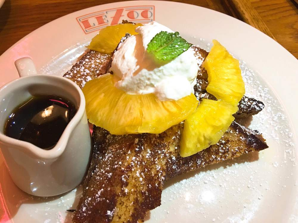 Le Zoo French Toast