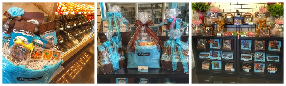 Hoffman's Chocolates gift baskets