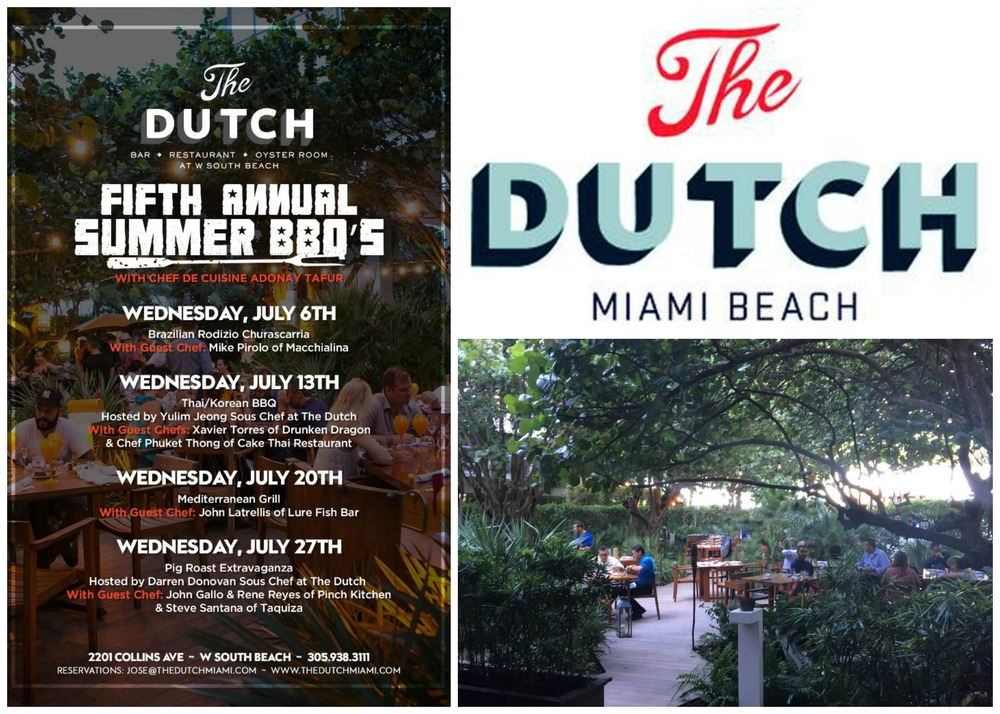 The Dutch Miami Beach BBQ Series 2016