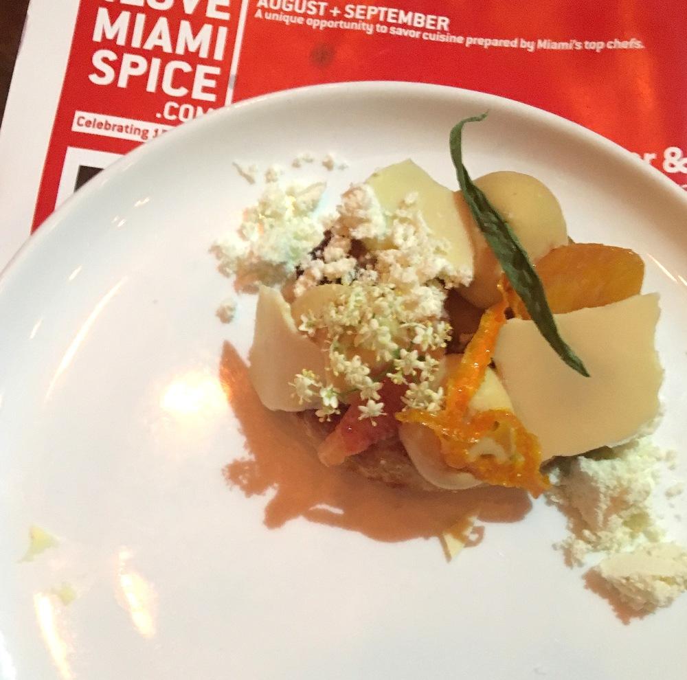 Miami Spice 2016 Alter Miami dessert