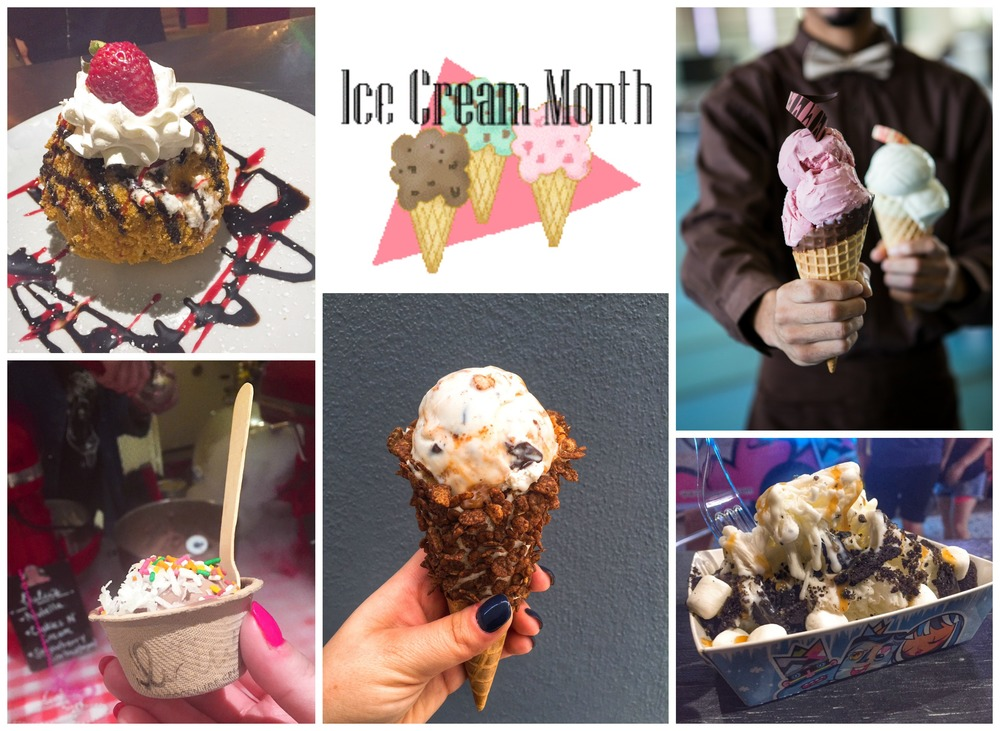 National ice Cream Month in Miami Five places to IceCream Go.