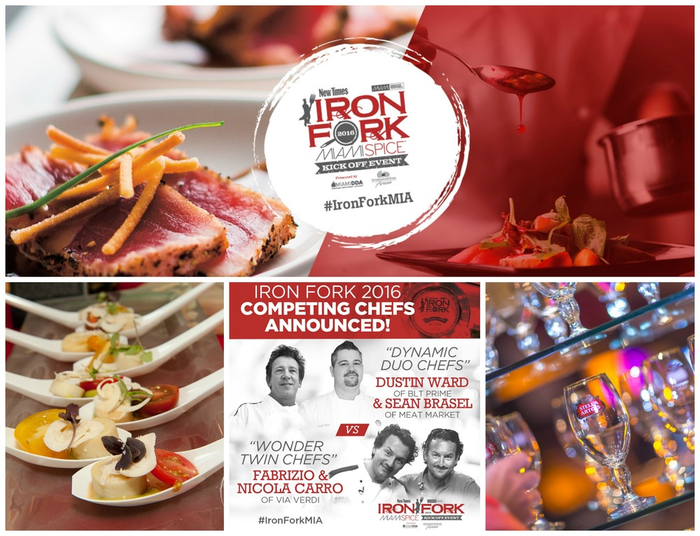 Miami Spice New Times Iron Fork 2016