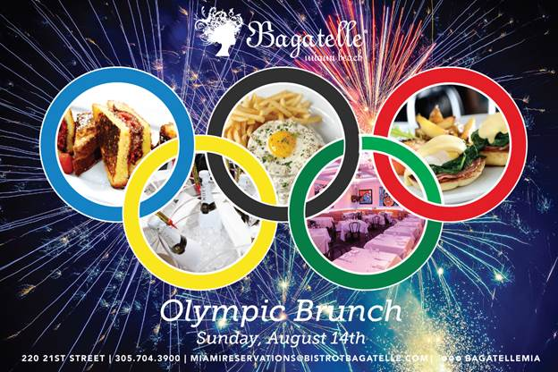 Bagatelle Miami Olympic Brunch