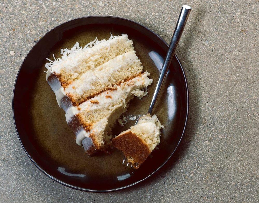 KYU Miami Coconut Cake