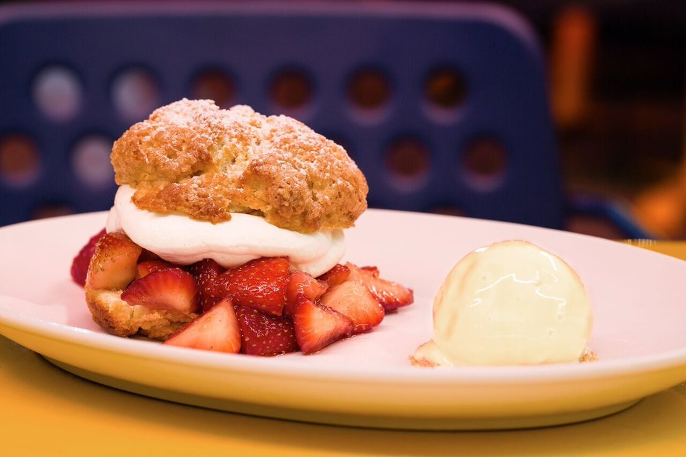The Continental Strawberry Shortcake