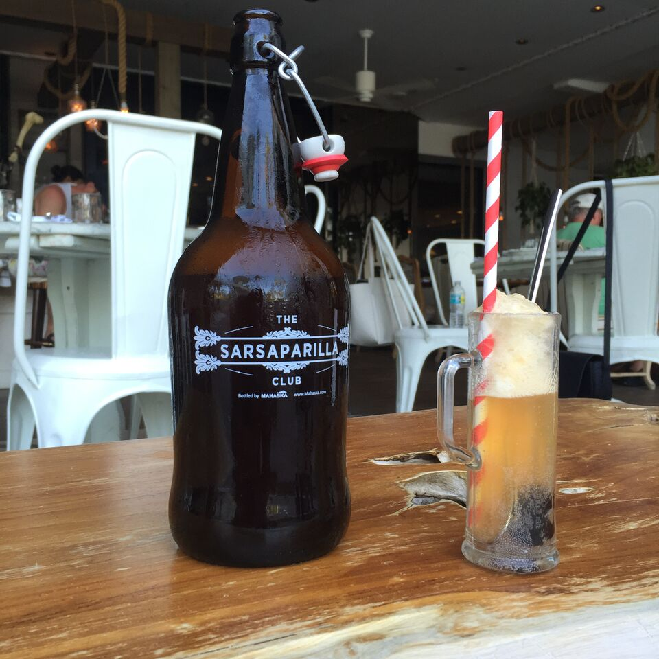 Sarsaparilla Root Beer Float