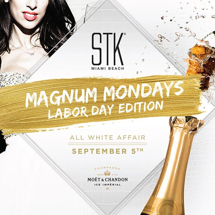 STK Miami Beach Labor Day White Party