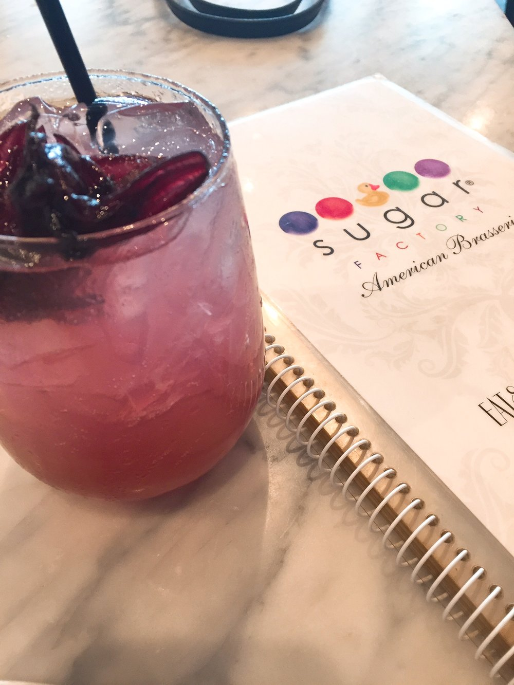 Sugar Factory Cocktail