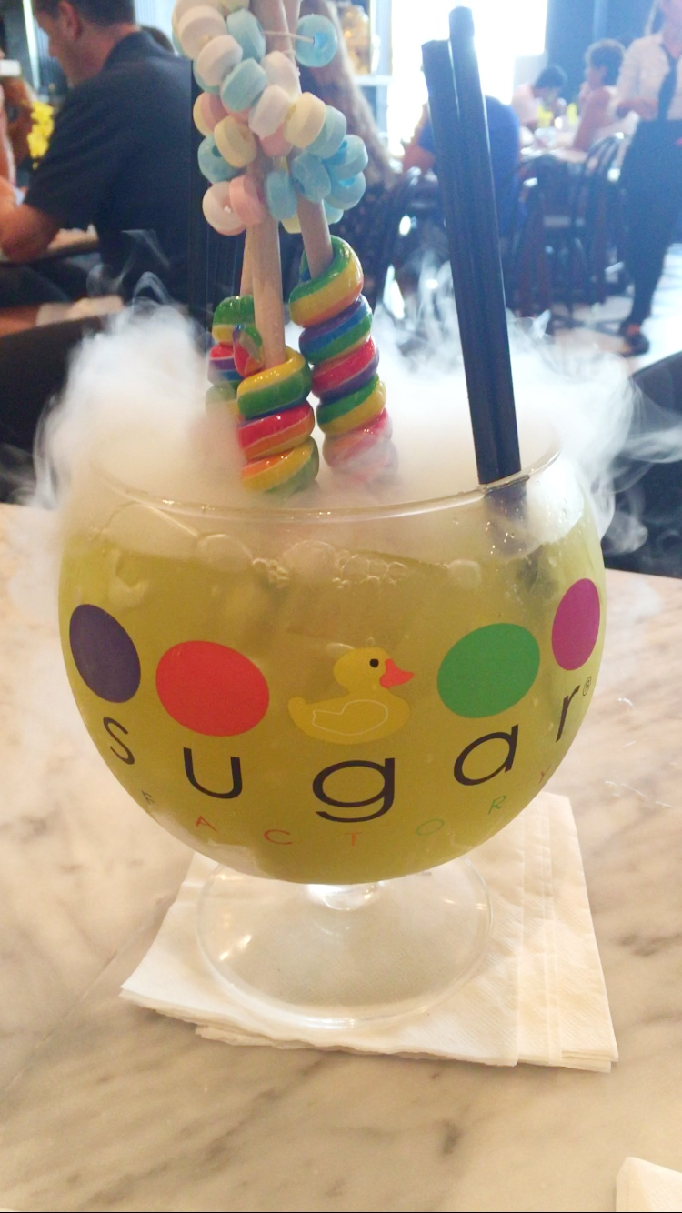 Sugar Factory Candy punch bowl cocktail