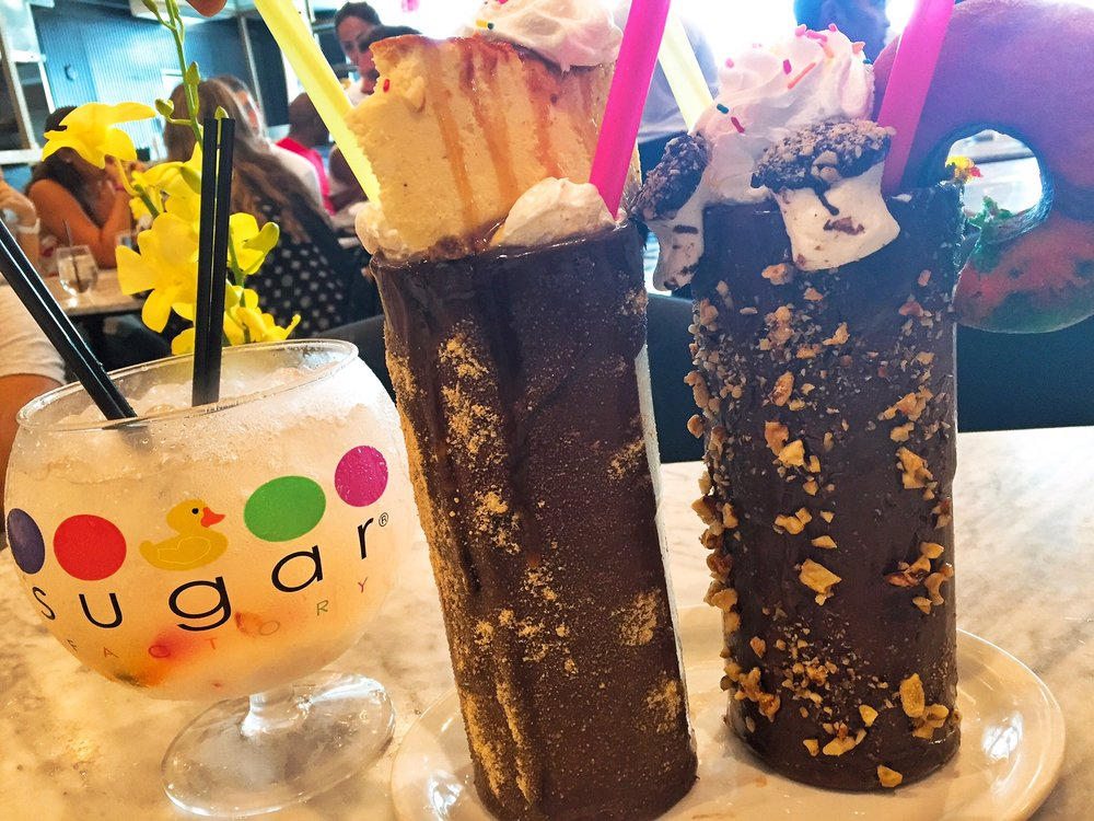 Sugar Factory Insane Milkshakes