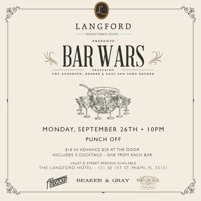 The Langford Pawnbroker Bar Wars