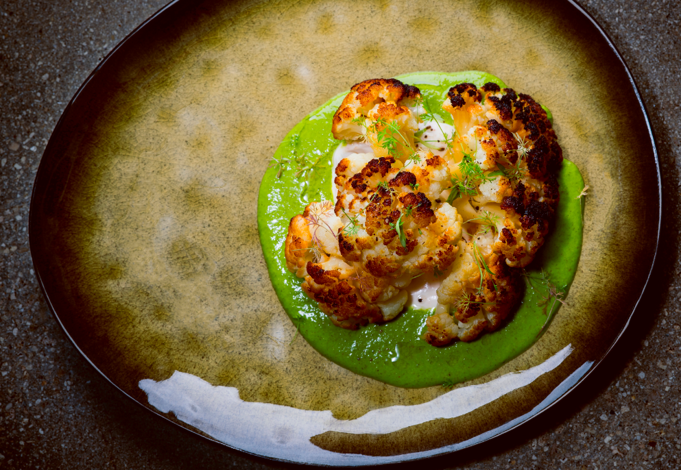 KYU Roasted Cauliflower