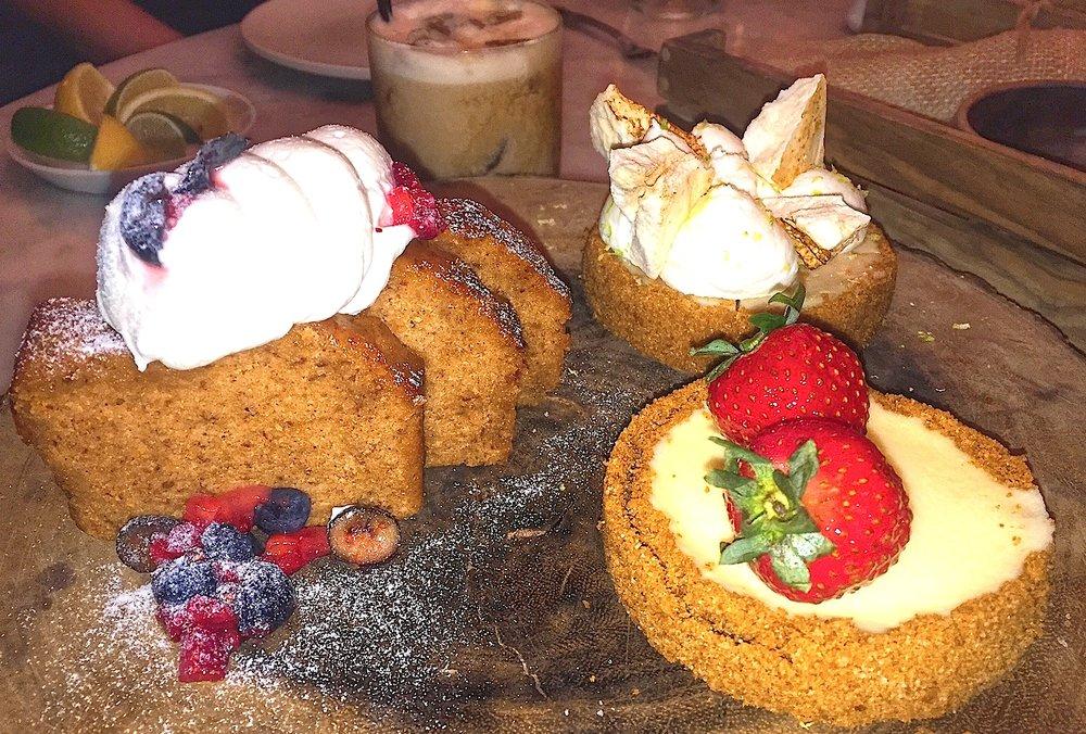 Burlock Coast Dessert Sampler