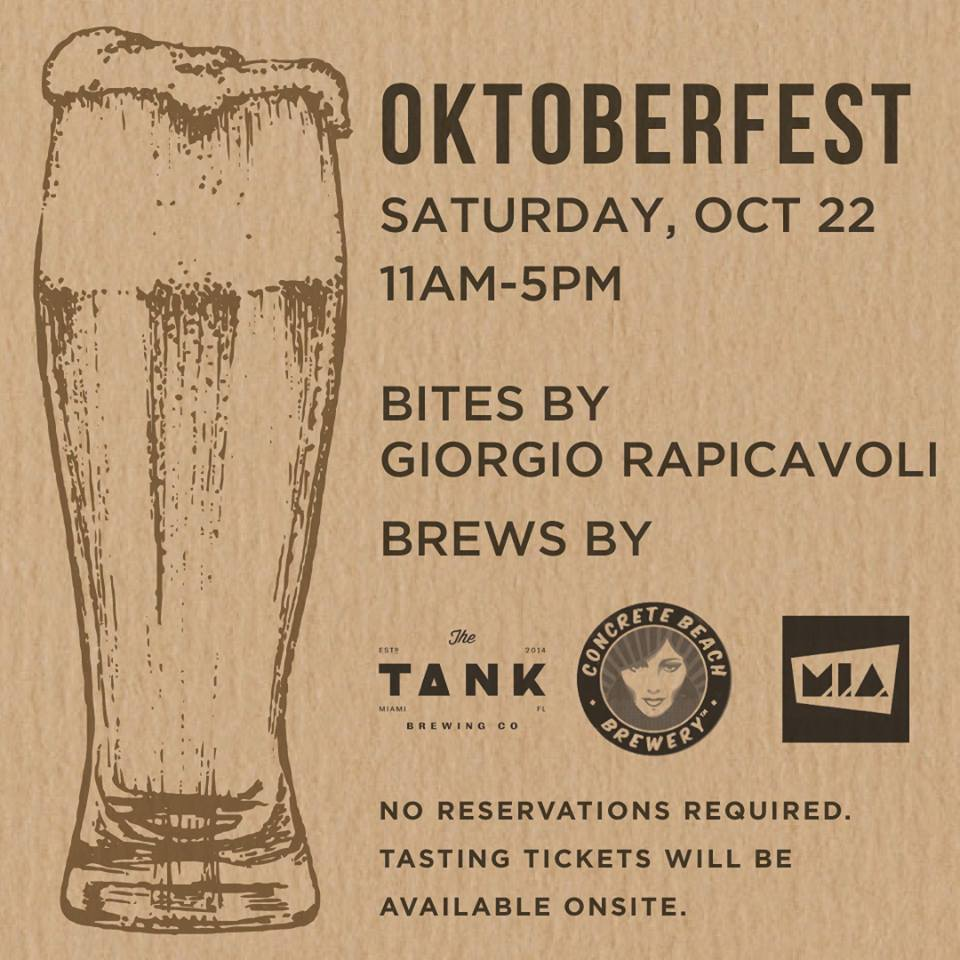 Glass & Vine Coconut Grove Oktoberfest