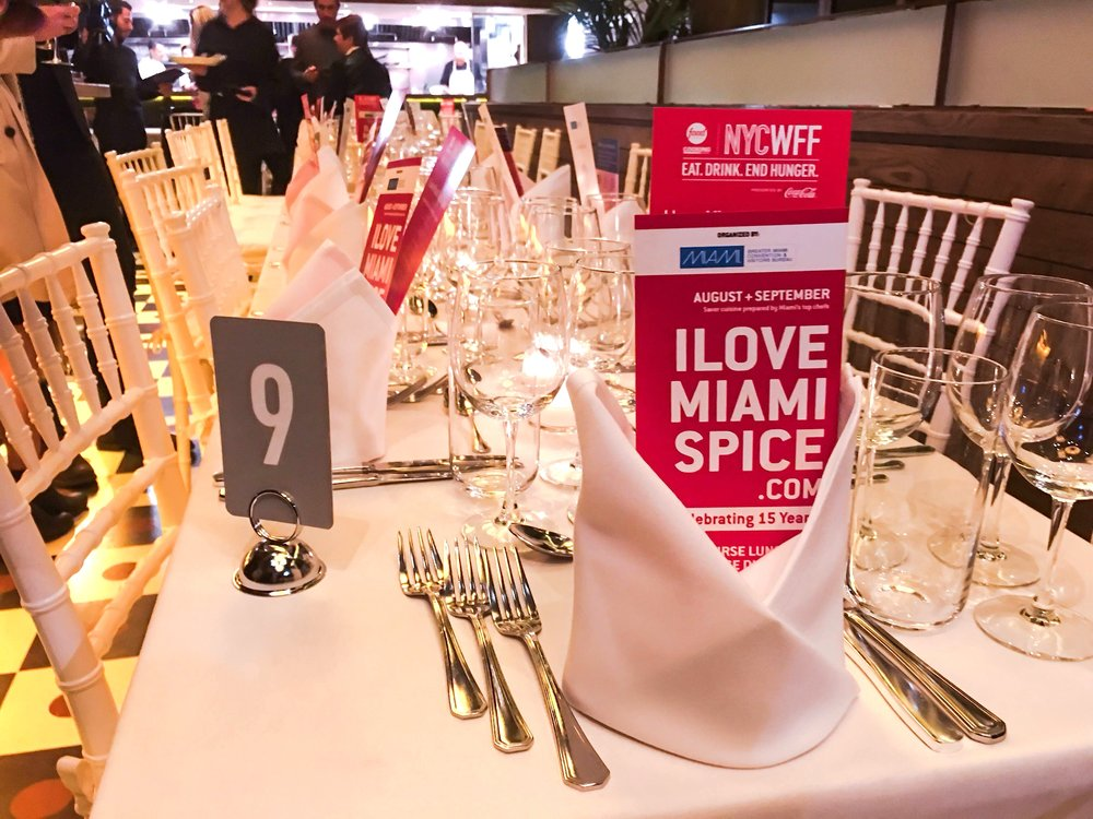 NYCWFF Miami Spice 2016