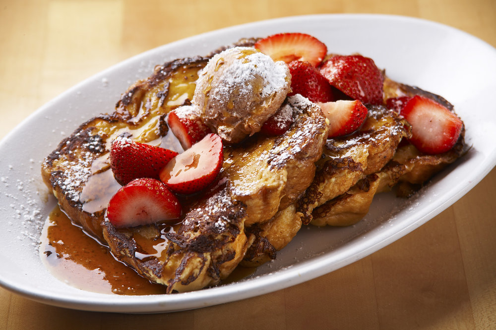 The Morgan's Restaurant Stuffed French Toast