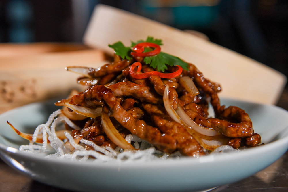Hakkasan Miami Beach Crispy Shredded Beef