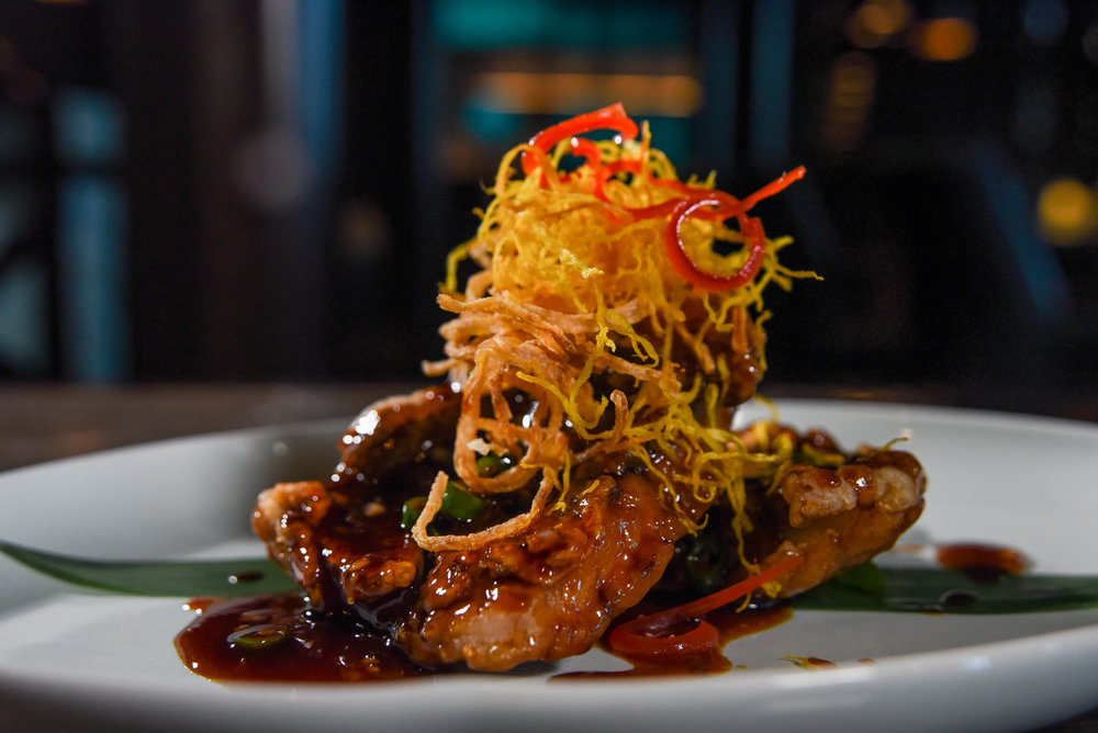 Hakkasan Miami Beach Seared Snapper