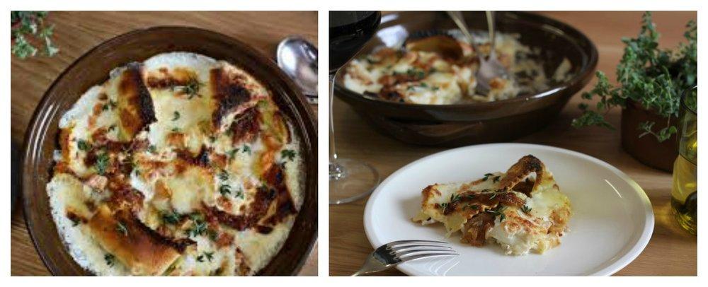 Fi'lia Restaurant Braised Short Rib Crepe Pasta