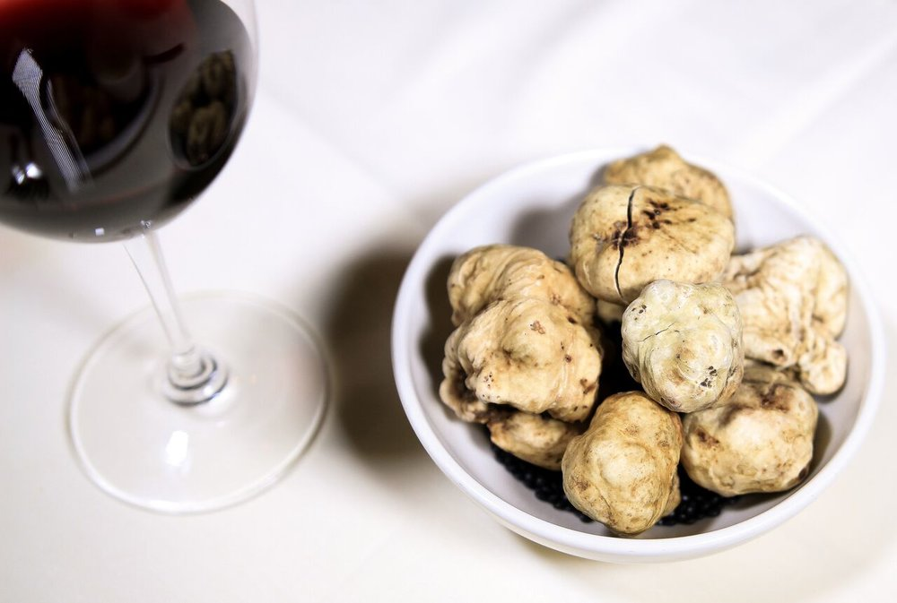 White Alba Truffles at Quattro Miami Beach