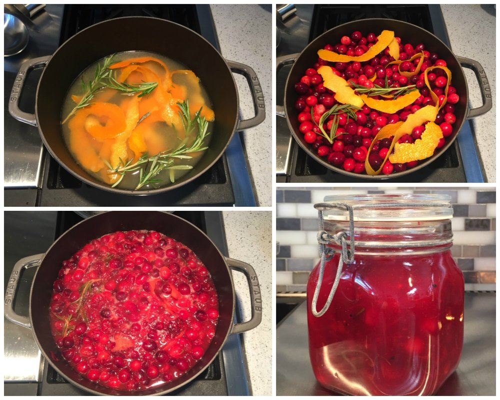 Thanksgiving 2016 Cranberry Sauce recipe