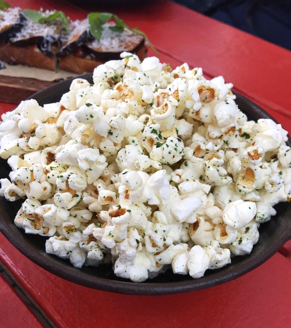 Portico Diplomat Resort Truffle popcorn
