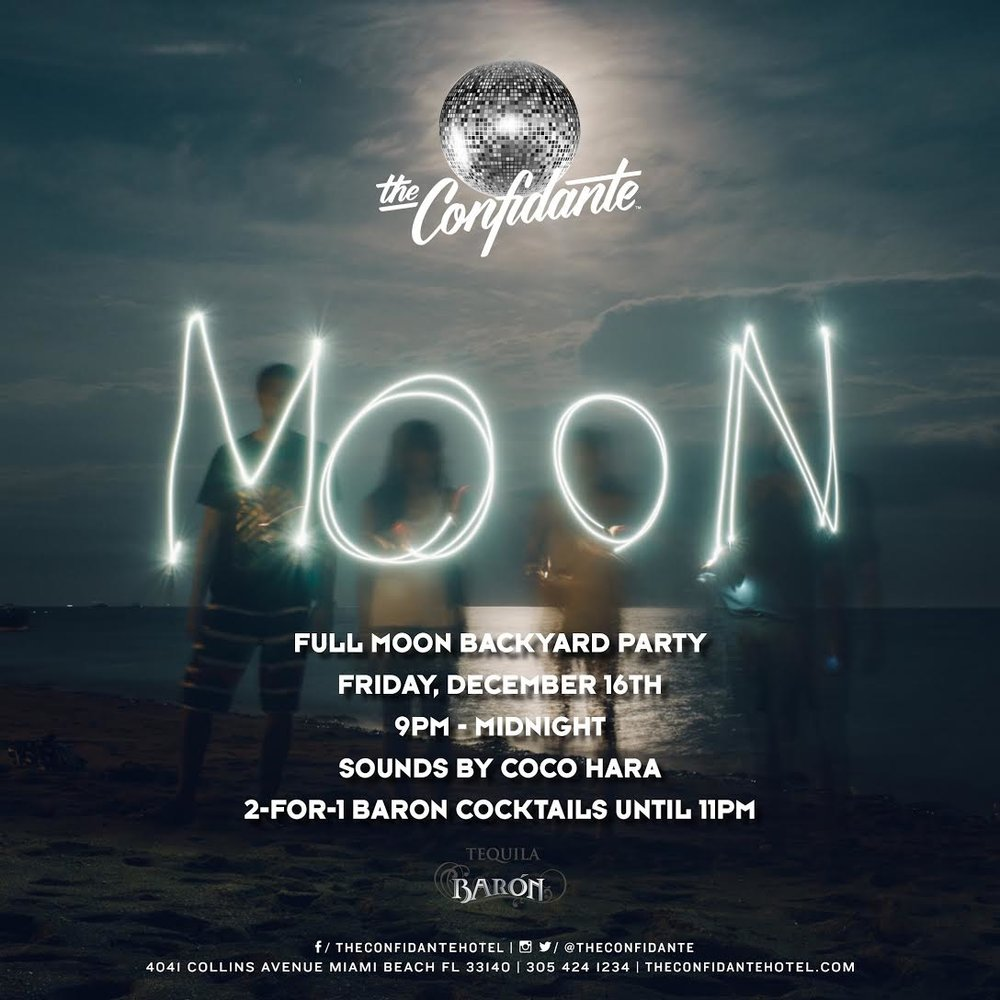 Full Moon Party at The Confidante Miami