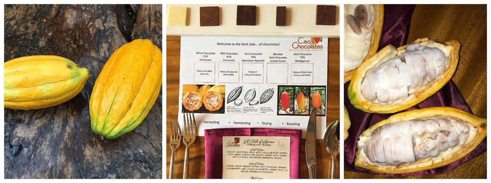 Patch of Heaven Cacao farms Cao menu
