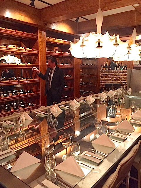 The Forge Miami Beach Wine Cellar Dining Room