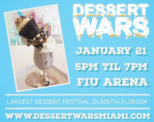 Dessert Wars Miami FIU