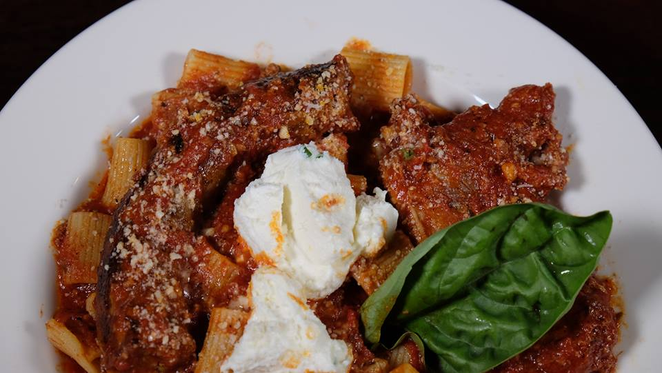 Jack's Miami Rigatoni with Meatballs, sausages and short rib