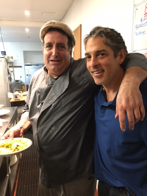 Chef JP and Alan Roth at Jacks Miami
