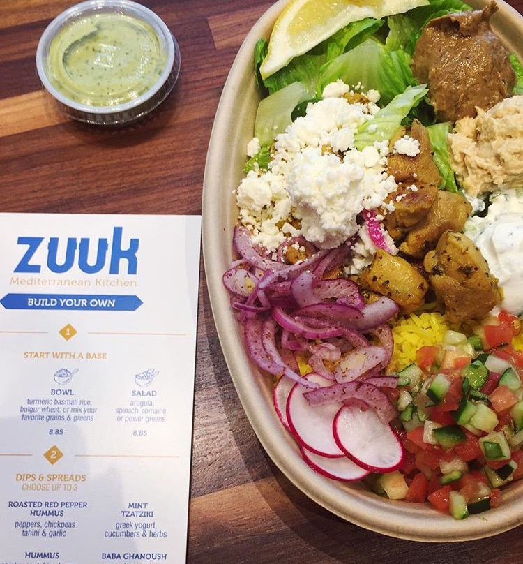 Zuuk Mediterrean Kitchen Brickell