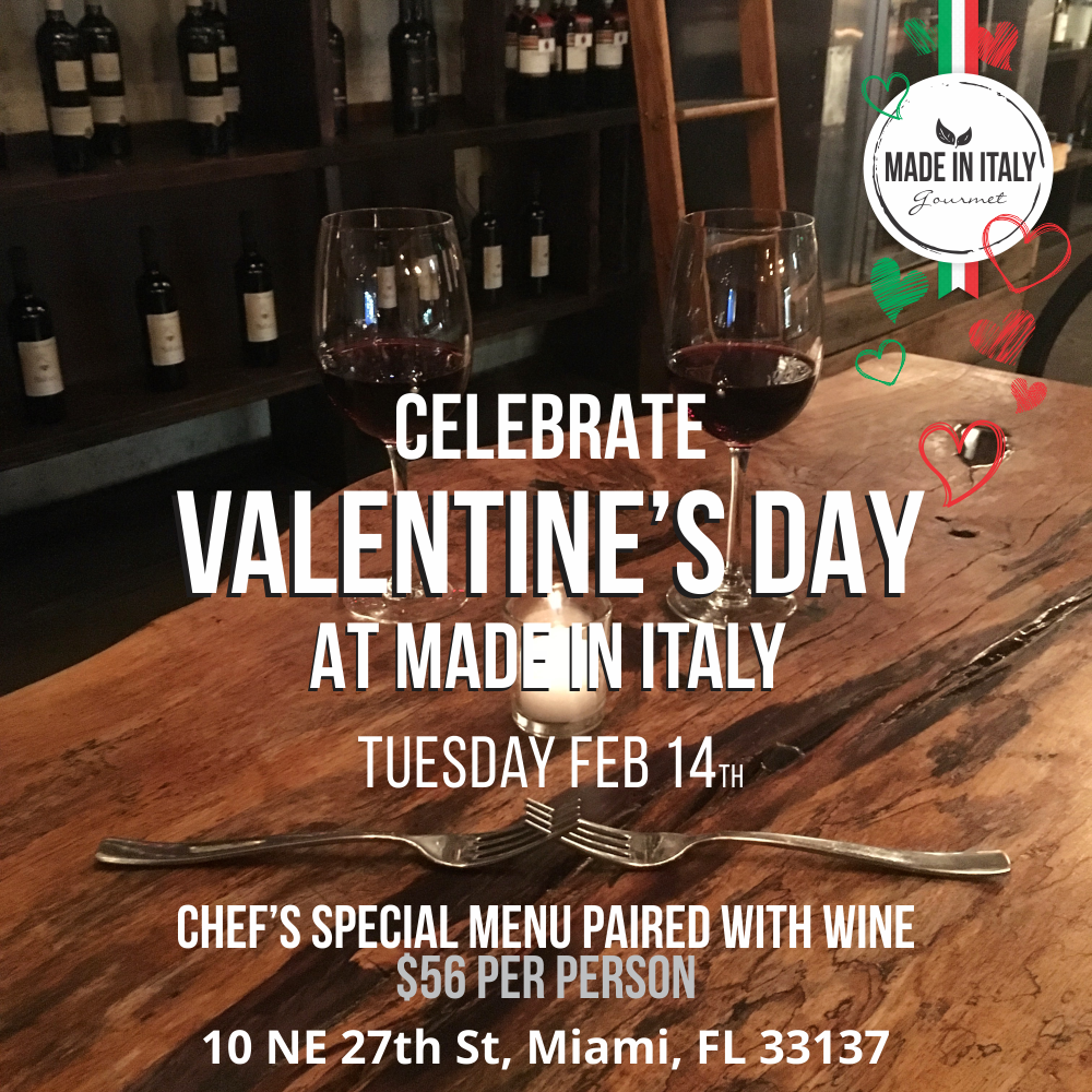 Made In Italy Wynwood Valentines Day