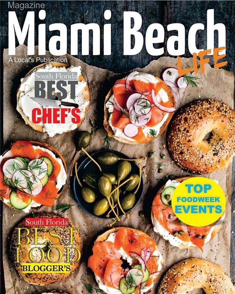 Miami Beach Life Magazine Food Issue