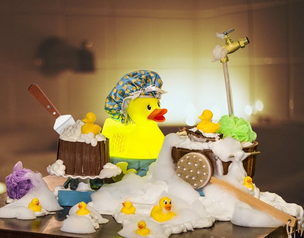 Barton G Rubber Ducky Dessert