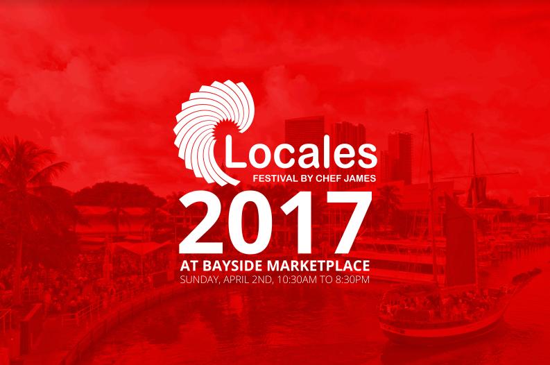 Locales Festival Bayside Park Miami