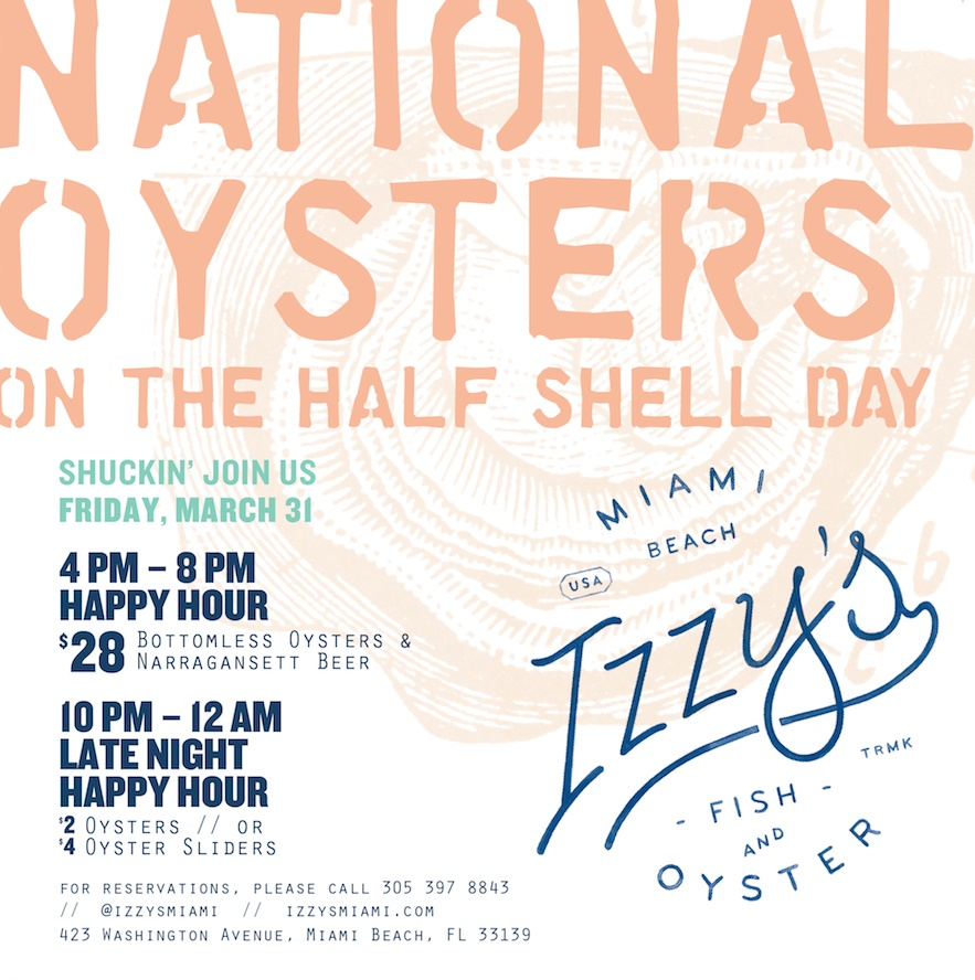 Izzy's Fish & Oyster Miami Beach