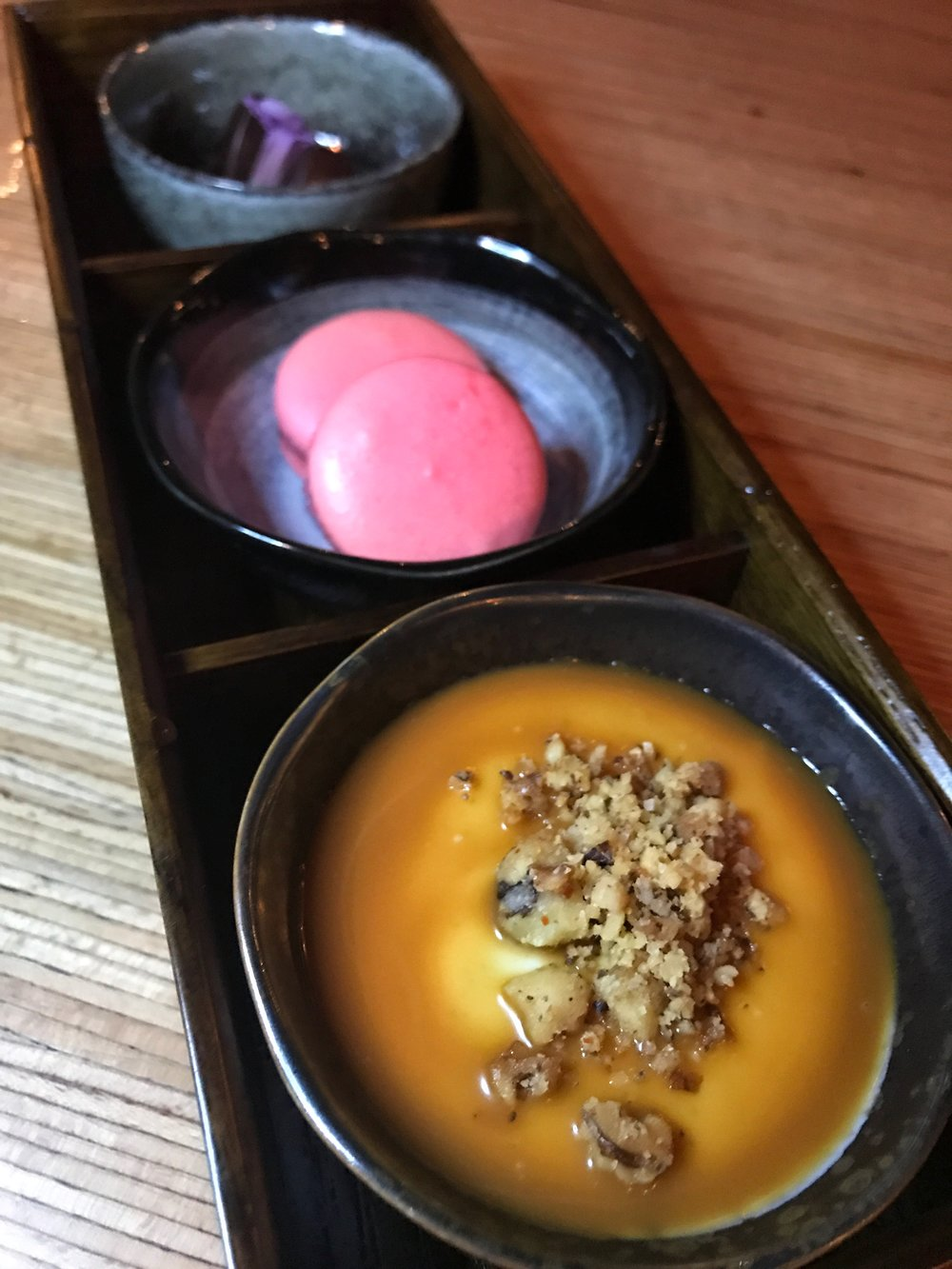 Dashi Miami River Dessert Trio