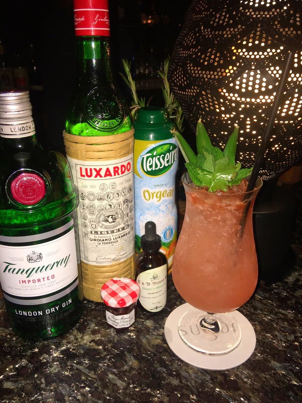 Sugar, EAST Hotel cocktail Miami